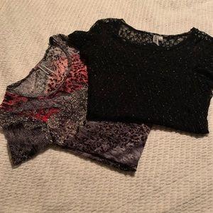 BKE lace shirts